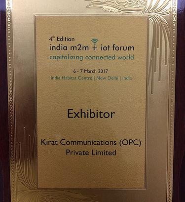 India OneM2M + IoT Forum 2017
